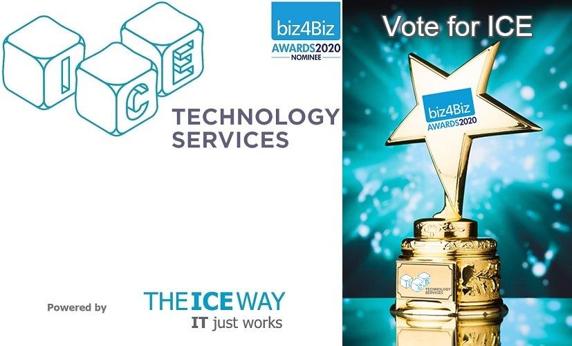ICE Technology Services, double 2020 biz4Biz award nominee
